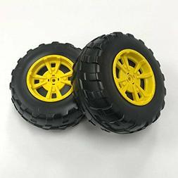 Peg Perego Gator XUV Front Wheels, Black