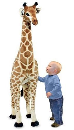 Melissa & Doug Giant Giraffe, Playspaces & Room Decor, Lifel