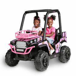 Girls Ride On Jeep 24V UTV Realtree Graphics MP3 In Lights C
