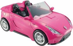 Barbie Glam Convertible Car Pink Shine Two Seats Vehicle Mat