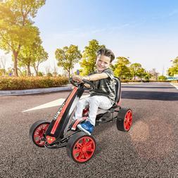 Go Kart Kids Outdoor Pedal Kart Racer Toys Ride On for Boys
