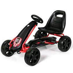 Go Kart Pedal Car Kids Ride On Toys Pedal Powered 4 Wheel Ad