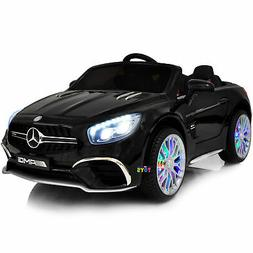 Ride On Toys 12V Mercedes One Seater Car MP3 MP4 Screen LED