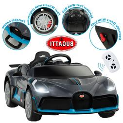 Bugatti Divo Kids Ride On Car 12V Electric Vehicles with Saf