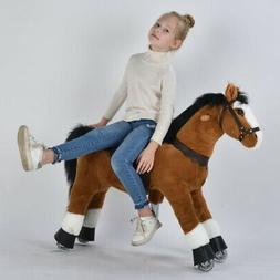 UFREE Horse Action Pony, Ride on Toy, Mechanical Moving Hors
