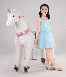 UFREE Horse Best Birthday Gift for Girls.Action Pony Toy, Ro