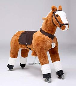 UFREE Horse Best Birthday Gift for Girls. Ride on Walking Ho