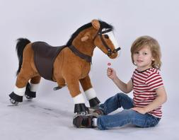 UFREE Horse Great Gift for Boys, Action Pony Toy, Ride on Sm