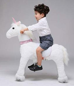 UFREE Horse, Action Pony, Ride on Toy, Medium Moving Rocking
