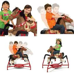 Horse Rocking Kids Toy Toddler Child Interactive Spring Hors