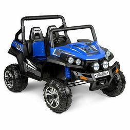 Hyper HPR-1000 12 Volt Ride-On Toy, 2 Seated BLUE Toddler Ki