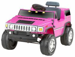 Hummer 6V Battery Powered Jeep, Pink