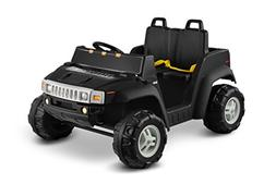 Kid Motorz Hummer H2 12V Two Seater, Black