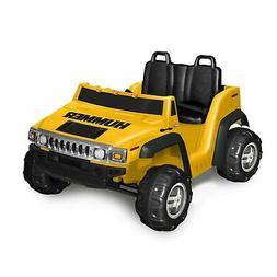 Kid Motorz Hummer H2 12V Two Seater, Yellow