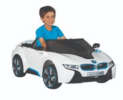 BMW I8 Concept Car Ride-On 6V Battery Front Headlights MP3 A