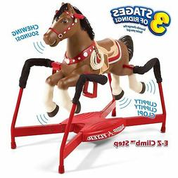 Interactive Spring Horse Rocking Ride-On with Sound Realisti