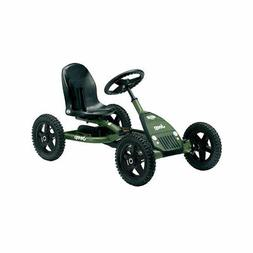 BERG Toys Jeep Junior Pedal Powered Go-Kart for Kids Adjusta