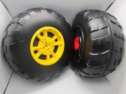 John Deere Peg Perego Gator XUV Rear Wheel Set  Left & Right