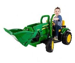 John Deere Loader 12-Volt Battery Powered Ride-On Tractor Ki