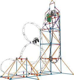 K'NEX – Looping Light-Up Roller Coaster Building Set –