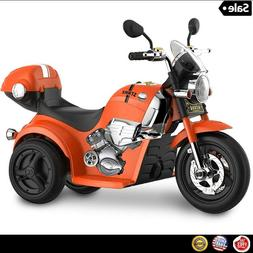 Kid 6V Motorcycle Ride On Toy Bike Electric Powered Xmas Gif