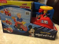 Kiddieland Disney Mickey Mouse Clubhouse 4-in-1 Activity Rid