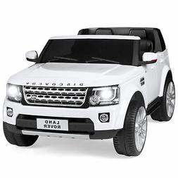 Best Choice Products Kids 12V Licensed Land Rover Ride On w/