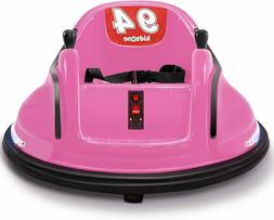 Kids ASTM-Certified Electric 6V Ride Bumper Car W/ Remote Co