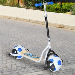 Kids Balance Scooter Adjustable No-Pedal Esay To Ride Soccer