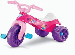 Kids Barbie Tricycle Pink Ride On Toy Bike Outdoor Trike for