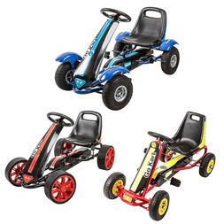 Kids Pedal Go Kart Ride On Car Toy Outdoor Bike Racing Cars