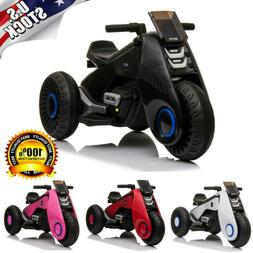 Kids Electric Motorcycle 6V 3 Wheels Bike Battery Powered Ri