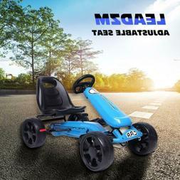 Kids Pedal Go Kart Ride On Toy Racing Cars Outdoor Bike 4 Ru