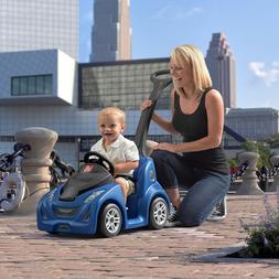 Kids Ride On Toys Push Car Toddler Children Steering Wheel H