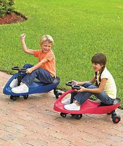 Kids Red Twist Roller Ride On Plasma Car Outside Play Toy Fu