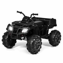Kids Ride On 4 Wheeler XL ATV Car Quad Battery Powered MP3 L