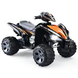 Kids Ride On ATV Quad 4 Wheeler Electric Toy Car Led Lights
