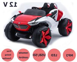 Kids Ride on Car 12V W/Music Remote Control Electric Kids To