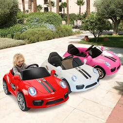 Kids Ride On Car Electric Car W/ MP3 LED Headlights Toy Gift