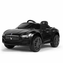 Kids Ride On Cars Maserati Licensed Outdoor Toy Gift Car w/R