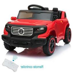 Kids Ride on Car Toys 3 Speeds Rechargeable Battery Music Li