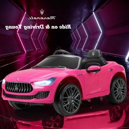 Kids Ride on Cars - 12V Children Electric Maserati Ghibli To