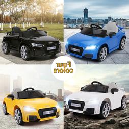 Kids Ride On Cars -Audi TT RS  Licensed- 12V Electric Rechar