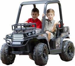 Kids Ride On Jeep 24V UTV Realtree Graphics Battery Powered