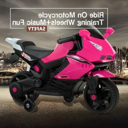 Kids Ride On Motorcycle 6V Electric Battery Powered Motorbik
