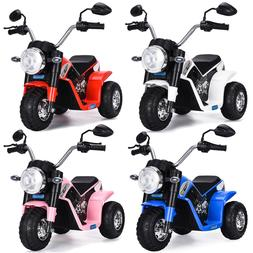 Electric Motorcycle Kids Ride On  6V Battery Powered 3 Wheel
