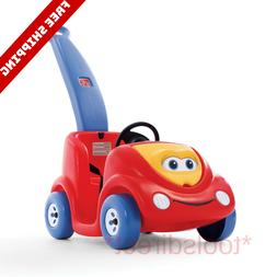 Kids Ride On Push Car Stroller Toddler Wagon w/Handle Toy Ba