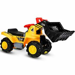 Kids Ride On Toy Truck Excavator Digger Truck Scooter  Toddl