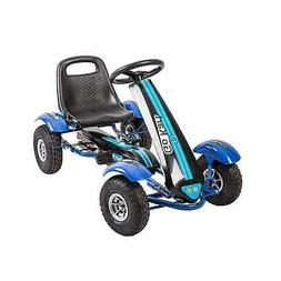 Kinbor Kids Pedal Go Kart Ride on Toy Racing Cars Pedal Powe