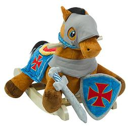 Rockabye Knight's Horse Play & Rock Ride On